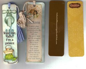 Celestial Seasoning Bookmarks 001