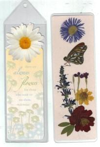 Flower bookmarks 001