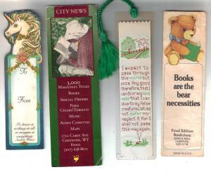 Unicorn bookmarks 001