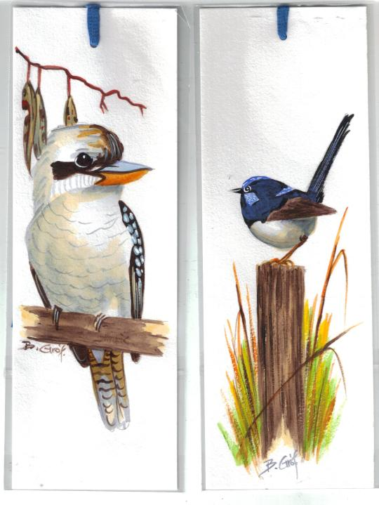 Bookmarks by Artist Bela Gof
