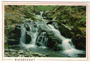 Waterfall postcard from Poland 001