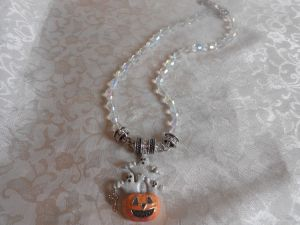 Kirks Folly Halloween enhancer and necklace.