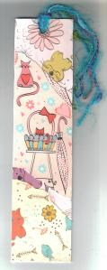 handmade bookmark back 001