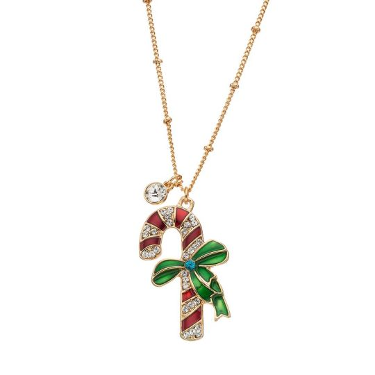 candy cane necklace