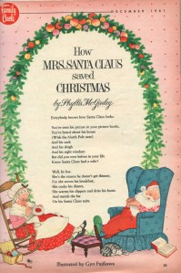 How Mrs Clause saved Christmas Poem